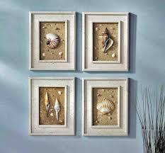 seashell bathroom ideas light blue wall color and seashell bathroom wall decor and ideas for