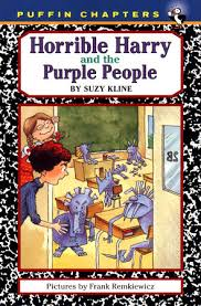 horrible harry and the purple by suzy