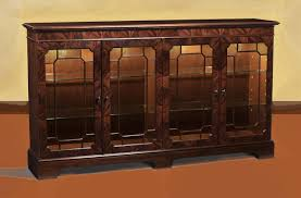 mahogany sideboard display cabinet paned glass doors touch light kit and adjustable shelves individual pained glass doors mahogany sideboard display cabinet for a traditional dining room
