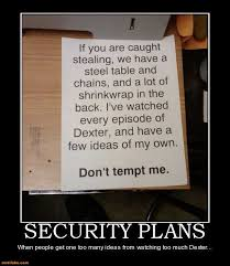 stealing demotivational poster page