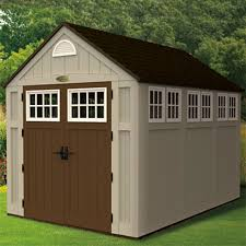 outdoor u0026 garden beautiful suncast sheds with red wooden siding