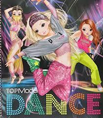 Album de coloriage TOPModel DANCE Special Amazonfr Jeux et Jouets