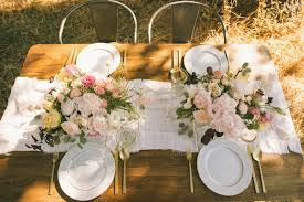 Two Stylish Summer Table Settings Glitter Guide - Design a table setting