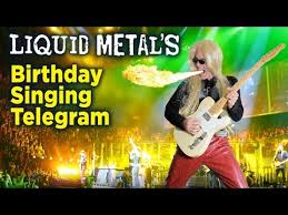 singing telegram birthday heavy metal singing telegram birthday greeting las vegas nevada