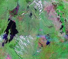 Rwanda Africa Map by Rwanda Map And Satellite Image