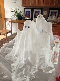 cheesecloth ghost halloween pinterest cheesecloth ghost