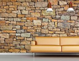 Stone Wall Mural Brown Stone Wall Wall Mural 12 039 Wide By 8 039 High