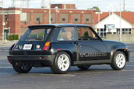 renault r5 turbo rare renault 5 has a trunk full of turbo