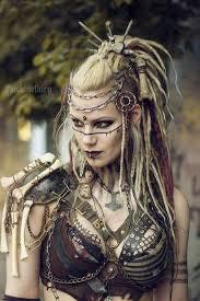 viking warrior hair wasteland viking post apocalyptic warrior outfits pinterest