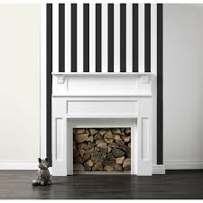 wilko stripe wallpaper black white 50 576 at wilko com decor