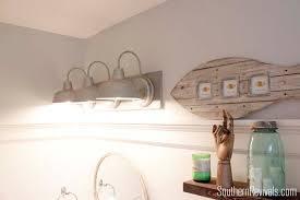 nautical bathroom light fixtures great galvanized bathroom lighting nautical bathroom light fixtures