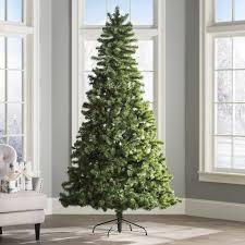 wayfair basics 7 5 green fir artificial tree reviews