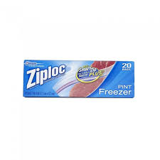 ziploc gallon freezer bags 10 9 16 x 11 2 7 mil 30 box
