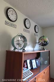 men u0027s home office makeover with retro inspired decor suzanne carillo