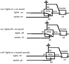 cool wiring diagram for lights on buzzer inspiring wiring ideas