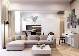 Contemporary Apartment Design Shamsudin Kerimov Designs A Pale Theme Contemporary Apartment In