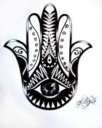 tattoo design hamsa 02 by ninaschee on deviantart