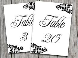 free table number templates printable place cards table numbers craftbnb
