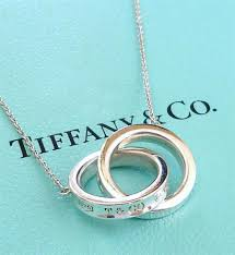 tiffany sterling necklace images Tiffany sterling silver 1837 interlocking rings circles necklace jpg