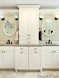 how to paint existing bathroom cabinets update your bathroom vanity in 5 easy steps of diy