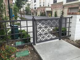 single gates iron works in carson gates fences