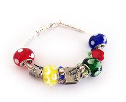 Bracelet With Initials Affordable Designer Pewter Birthstone Bracelets With Initials Or