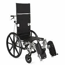 amazon com medline reclining wheelchair 20