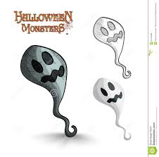 pictures of halloween monsters halloween cartoon monsters set stock vector image 44645301