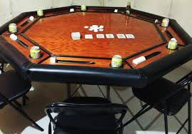 hand made poker table by freund custom furniture custommade com