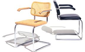 Knoll Rocking Chair Cesca Chair With Cane Seat Hivemodern Com