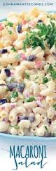 Cold Pasta Salad Dressing Macaroni Salad Gonna Want Seconds