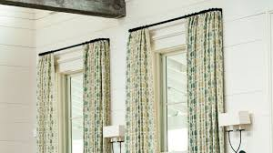 how to measure for curtains southern living youtube