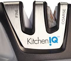 kitchen iq edge grip 2 stage knife sharpener knife sharpener reviews