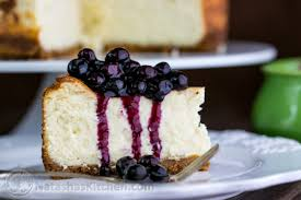 Lemon Cheesecake Decoration Best Cheesecake Recipe With Blueberry Topping