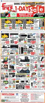fry s electronics black friday 2011 ad scan
