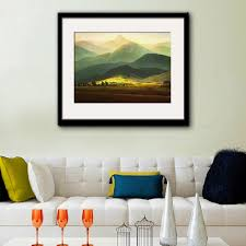 online buy wholesale wall range from china wall range wholesalers free shipping framed canvas painting art mountain range painting canvas print wall art home decor decoration