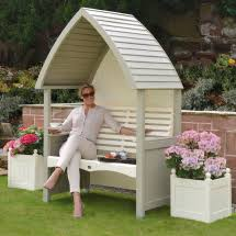 Cream Garden Bench Garden Furniture Garden Mall