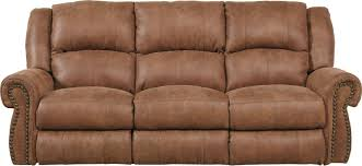 Reclining Couches Catnapper Westin Reclining Sofa In Nutmeg 1051