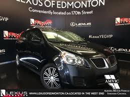 lexus of edmonton alberta pontiac vibe new and used cars buy sell vehicles nearby in