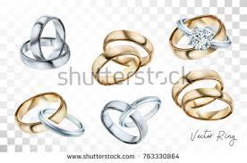 gold metal rings images Wedding rings set silver gold metal stock vector 763330864 jpg
