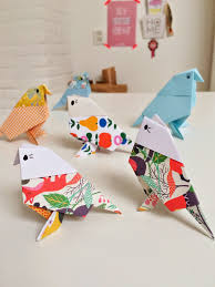 origami birds fun crafts kids