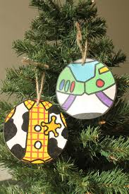 handmade story themed ornaments by paintandply