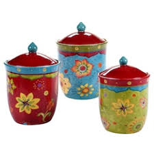 kitchen canister set canisters jars food storage kitchen dining kohl s
