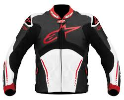 white leather motorcycle jacket alpinestars atem custom leather jacket replica black white red