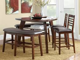 Triangle Dining Table With Bench Amazing Decoration Triangle Dining Room Table Crafty Design Ideas