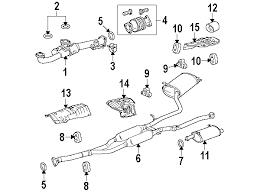 2010 honda accord parts parts com honda accord crosstour exhaust components oem parts