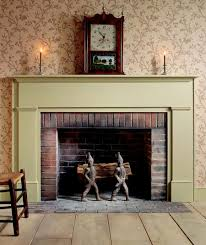 rustic style home decor with brick fireplace mantel and appealing originalviews