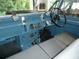 blue range rover interior tfu 266 1959 land rover series ii land rover series