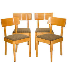 Set Of Four Dining Chairs Set Of Four Dining Chairs Russel Wright American Modern