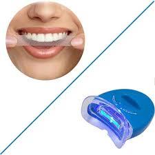 teeth whitening kit with led light genkent teeth whitening kit led light tooth whiten bleaching
